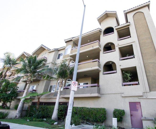 The balconies at the Fulton Terrace in Sherman Oaks