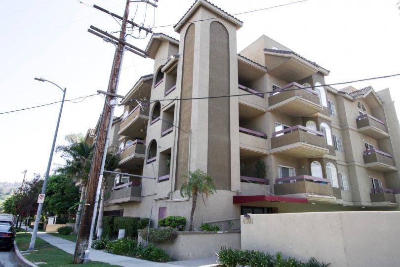 The units seen within the Fulton Terrace in Sherman Oaks