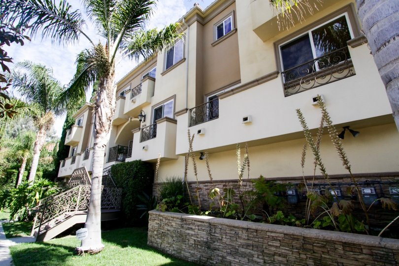 The balconies that are seen at Magnolia Terrace in Sherman Oaks