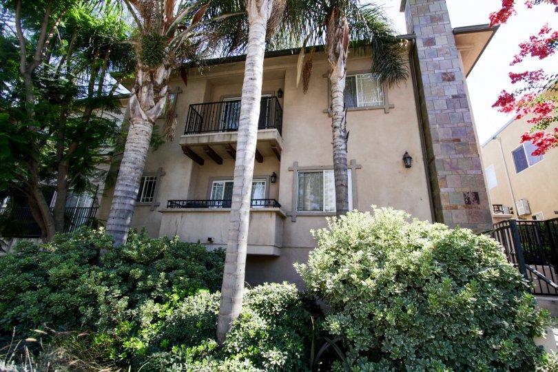 The balconies seen at Margate Gardens in Sherman Oaks