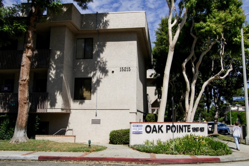 The address on the Oak Pointe building