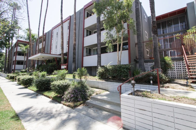 The Parkridge building in Sherman Oaks