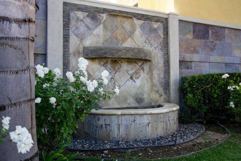 The fountain in front of Placita De Oro