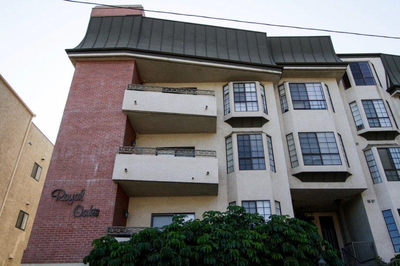 The balconies at Royal Oaks