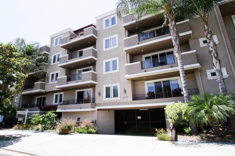 The Sierra Heights Condominiums building in Sherman Oaks