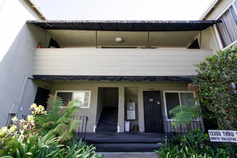 The entrance into The Montecito in Sherman Oaks