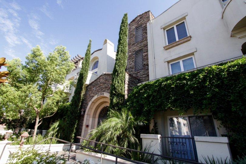 The Villa Trevi building