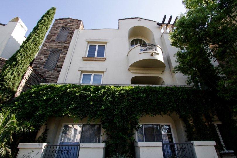 The balcony seen at Villa Trevi