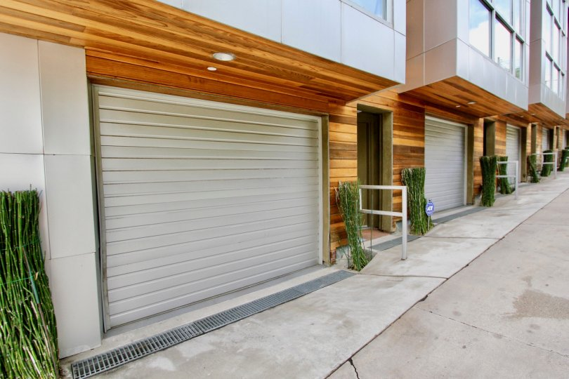 The garage at Hyperion Lofts in Silver Lake, California
