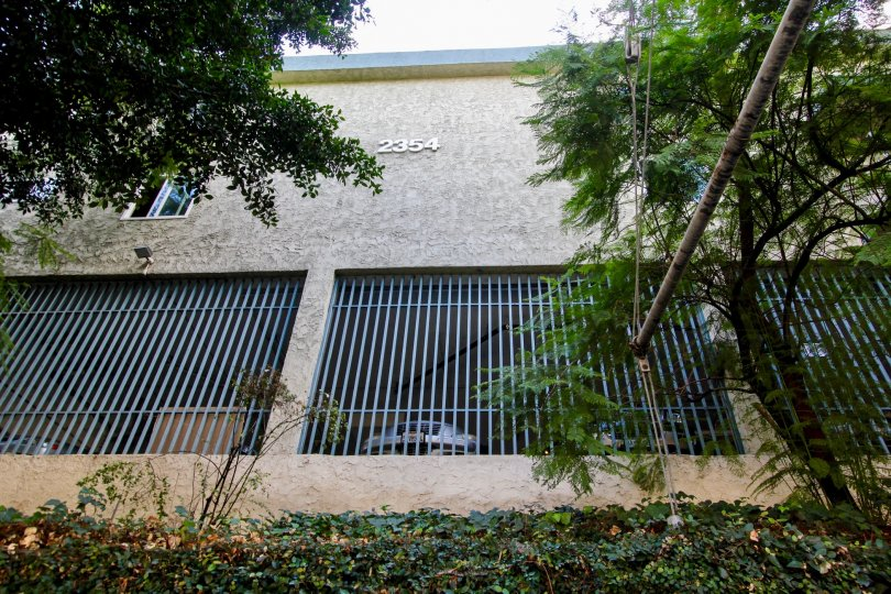 The parking structure seen at Rancho Los Feliz