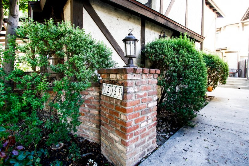 The entrance into 12053 Guerin St in Studio City