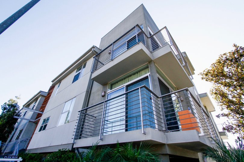 The balconies at 12908 Bloomfield in Studio City
