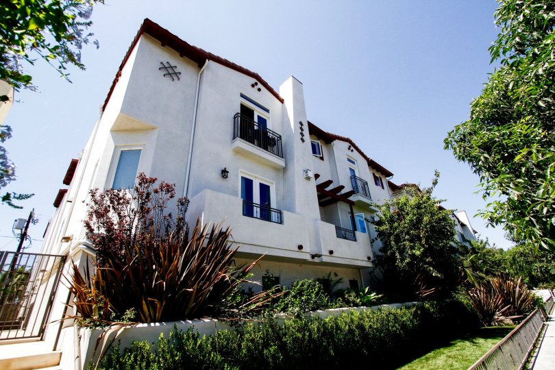 The Colfax Villas building in Studio City