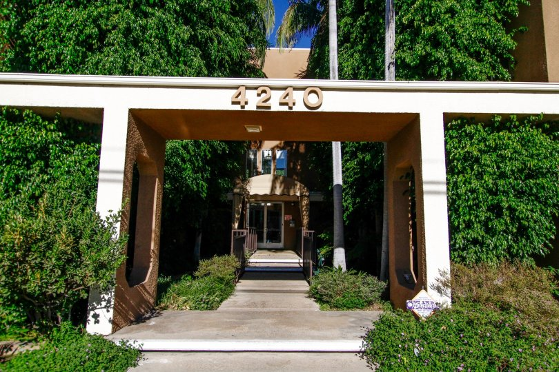 The address at the Fulton Towers in Studio City