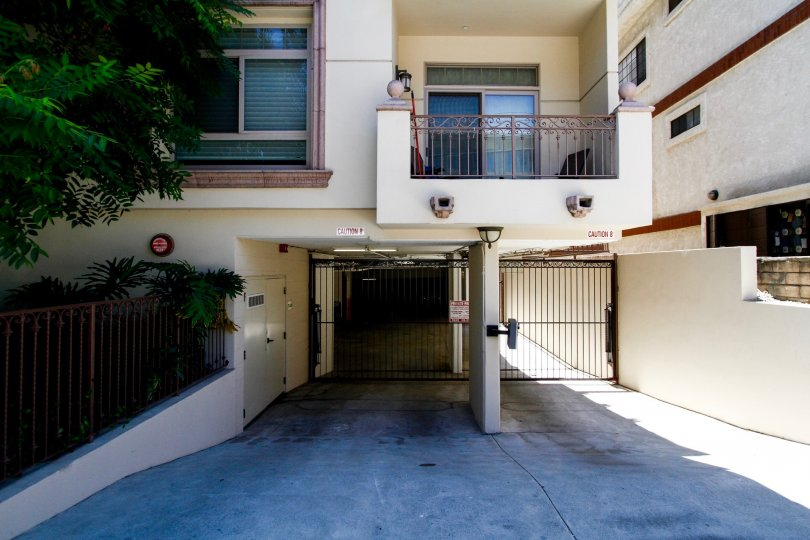 The parking for residents at Moorpark Meadows in Studio City