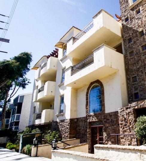 The balconies at Moorpark Villas