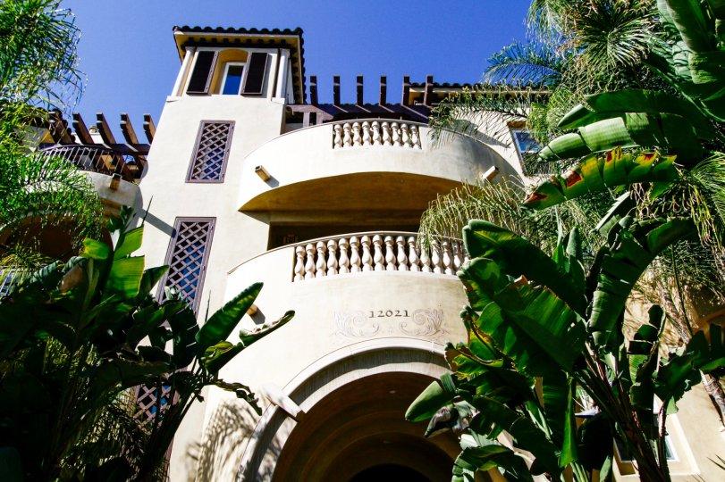The entrance into Studio Villas