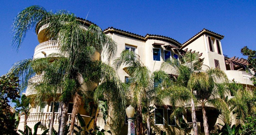 The Studio Villas building in Studio City