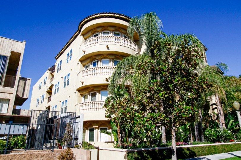 The balconies seen at Studio Villas