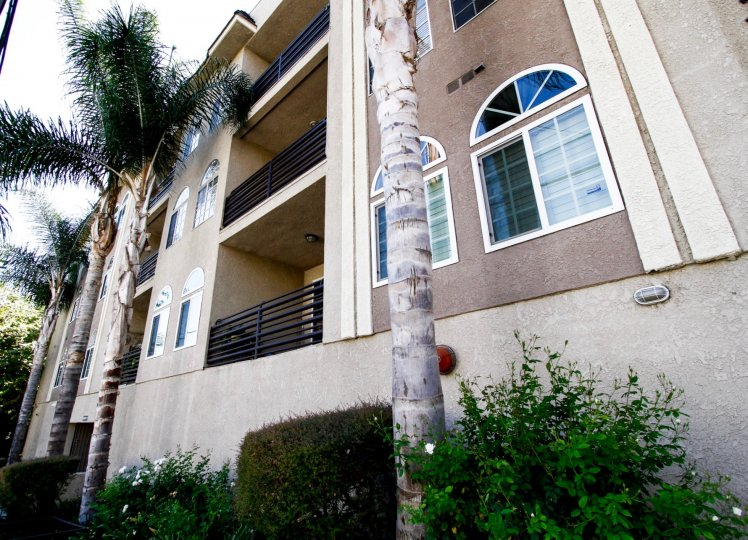 The balconies at Studio Vista Living