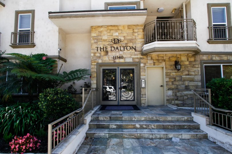 The entrance into The Dalton