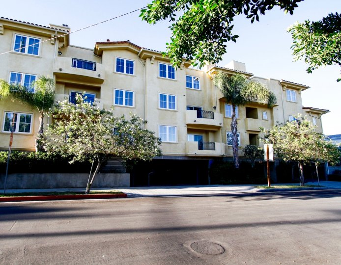 The Villa Tuscana building in Studio City