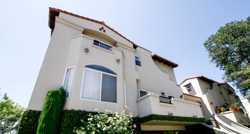 The windows seen at the Villas at Colfax in Studio City
