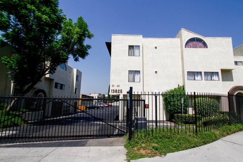 The Olive Tree Villas complex in Sylmar California