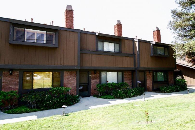The windows at Stoneman Villas in Sylmar California