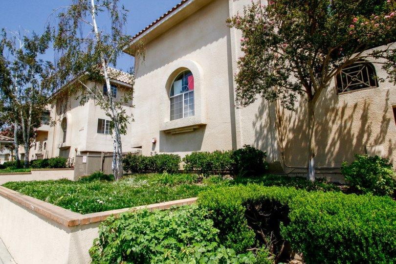 The landscaping around Villa Montera in Sylmar California