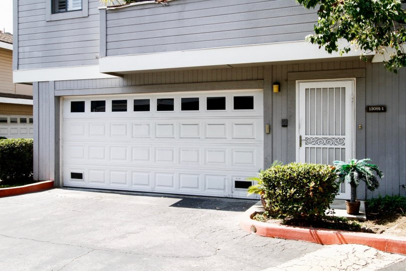 The garage for Woodpointe in Sylmar California