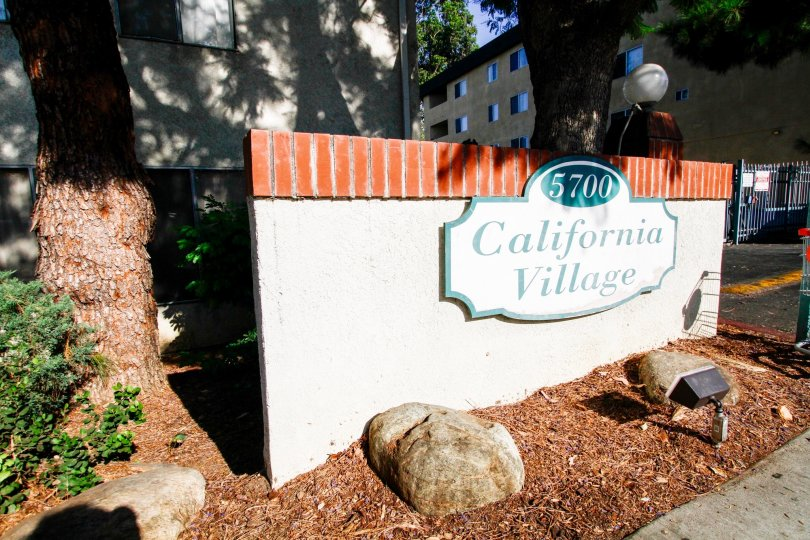 The address at California Village