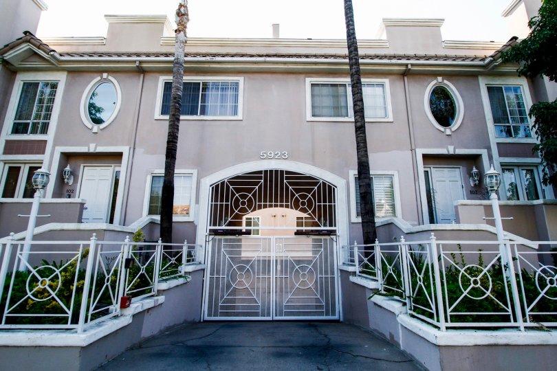 The Villa Monet building in CA California