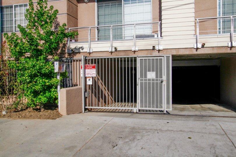 The parking for Yolanda Terrace in CA California