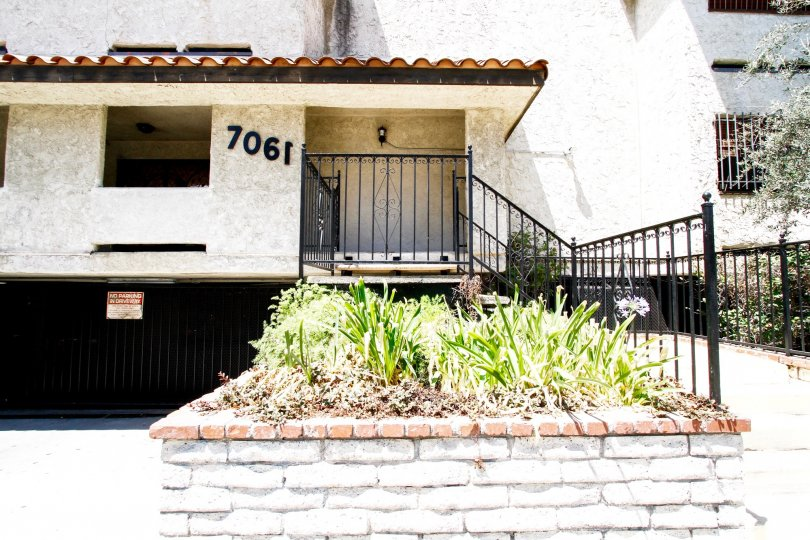 The entrance into 7061 Kester Ave in Van Nuys