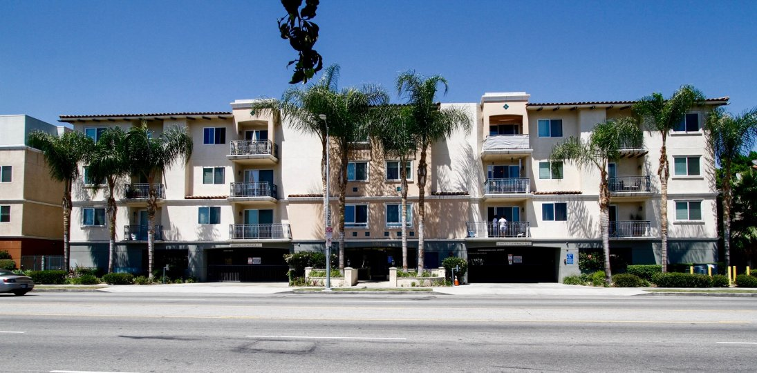The Sherman Way Villas building in Van Nuys