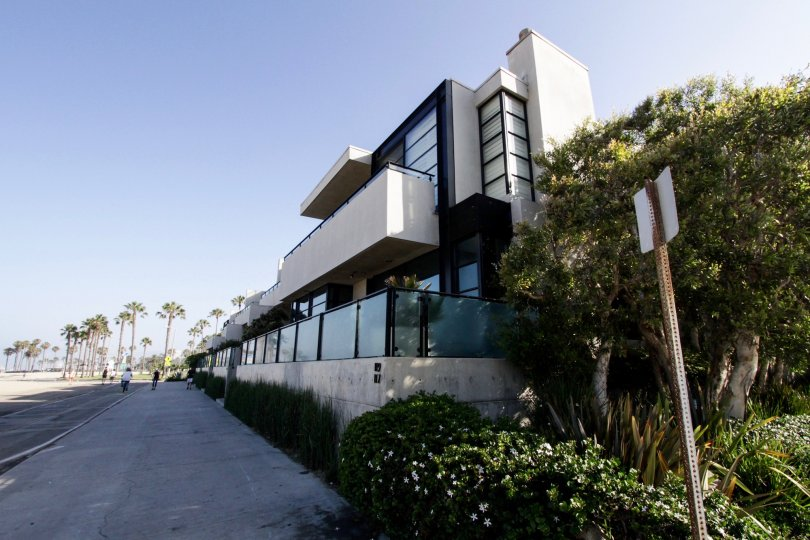 The Ocean Front Townhomes building