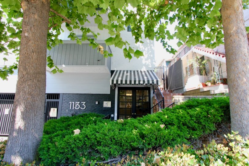 1133 Clark and it's super awesome green area, west hollywood, California