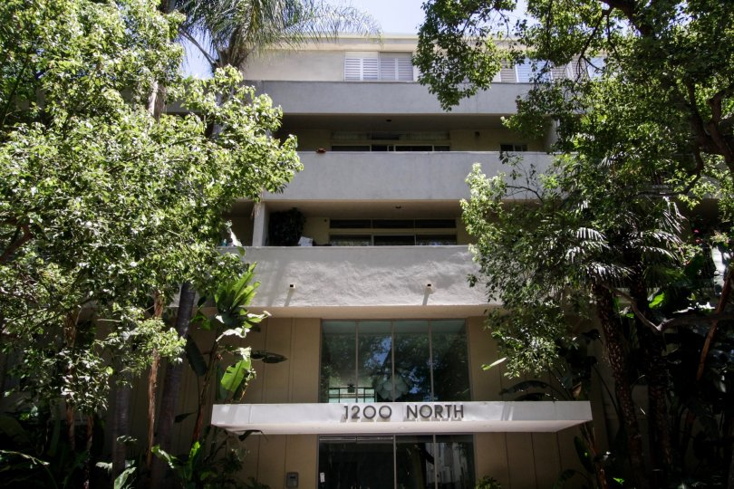 The building at 1200 N Flores in West Hollywood