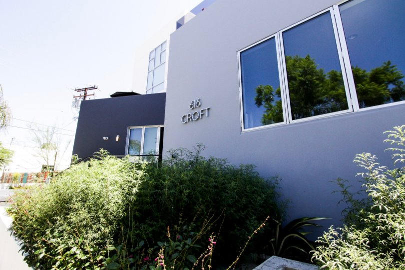 The address of 616 Croft in West Hollywood