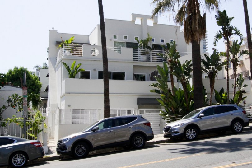 The building at 959 N Doheny in West Hollywood