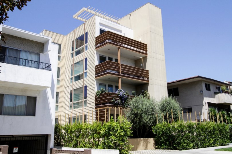 The Copa Town Lofts building in West Hollywood