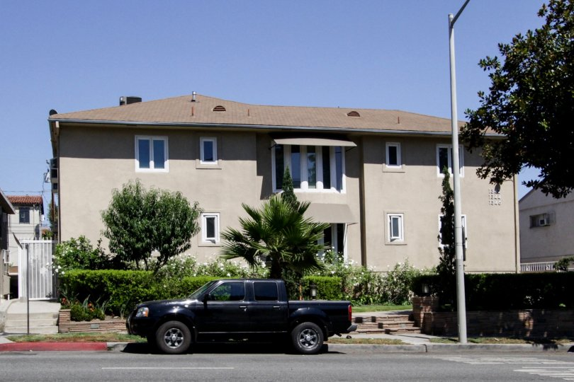The Crescent Terrace building in West Hollywood
