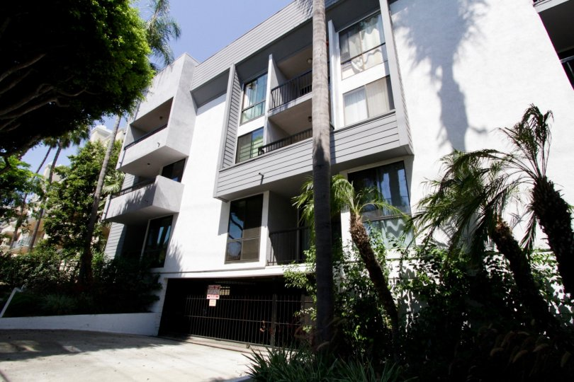 The parking for Doheny Terrace in West Hollywood
