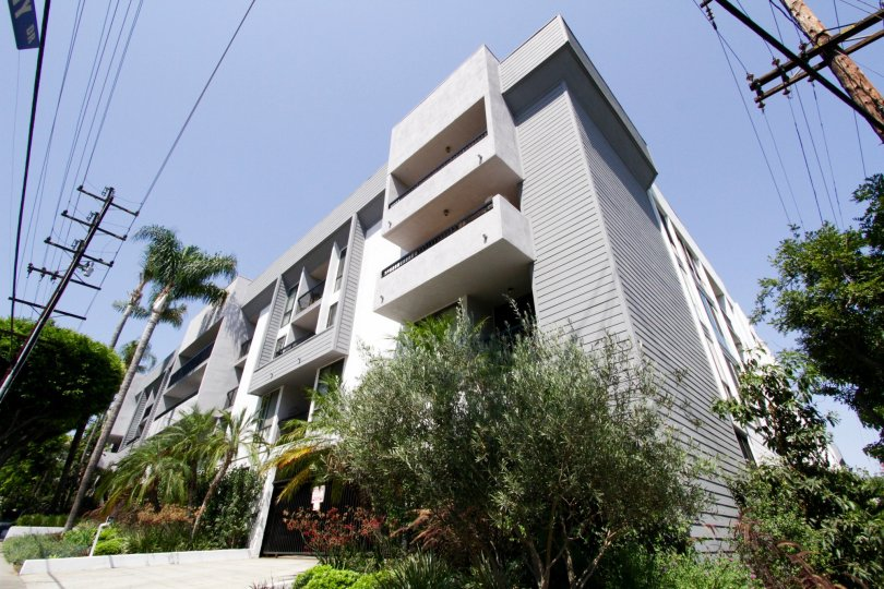 The Doheny Terrace building in West Hollywood