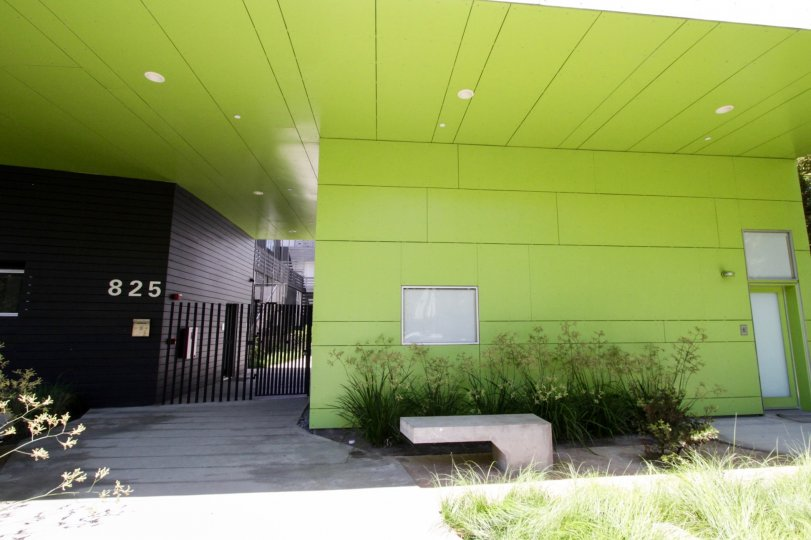 The entrance into Habitat 825