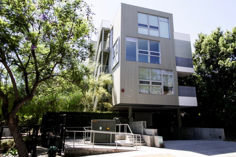 The Habitat On The Park building in West Hollywood