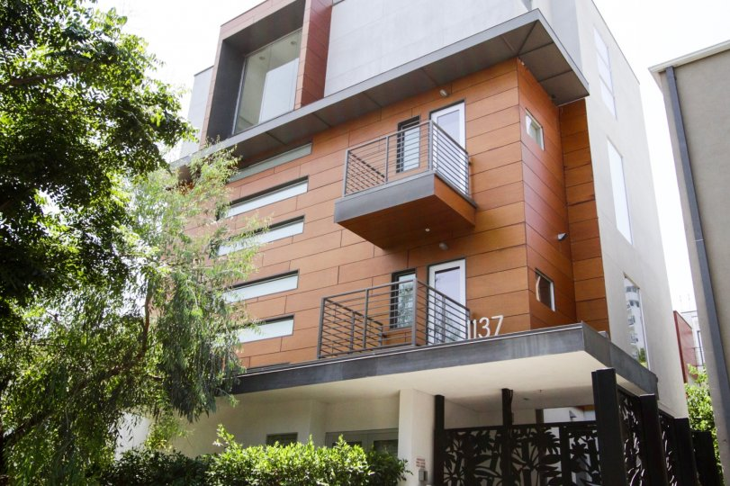 The balconies at Haciend Lofts