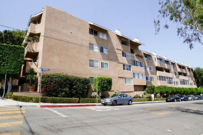 The Hammond Terrace building in West Hollywood