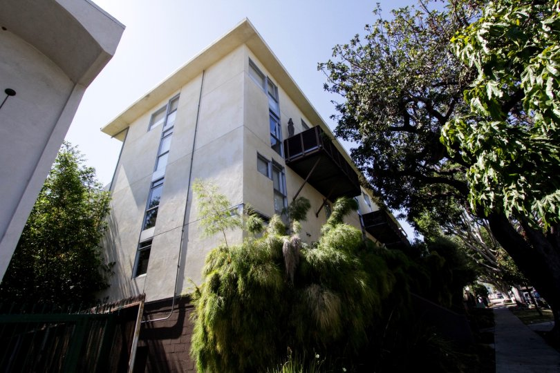 The Laurel Court Lofts building in West Hollywood